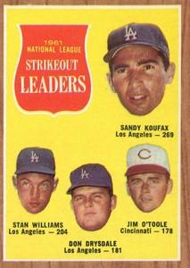 Sandy Koufax Cards - Vintage Baseball Card Timeline 11