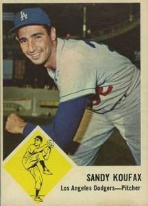 Sandy Koufax Cards - Vintage Baseball Card Timeline 12