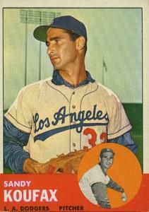 Sandy Koufax Cards - Vintage Baseball Card Timeline 13