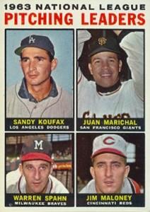 Sandy Koufax Cards - Vintage Baseball Card Timeline 19