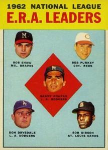 Sandy Koufax Cards - Vintage Baseball Card Timeline 14