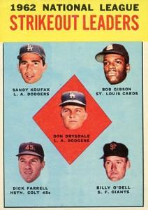 Sandy Koufax Cards - Vintage Baseball Card Timeline 15