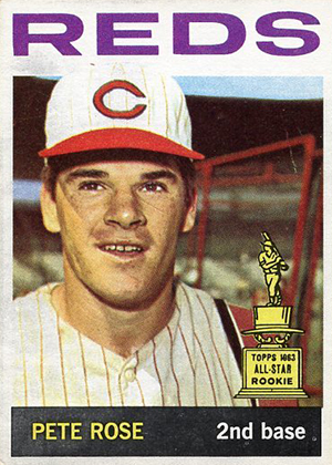 1964 Topps Baseball 125 Pete Rose