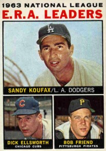 Sandy Koufax Cards - Vintage Baseball Card Timeline 18