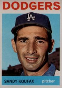 Sandy Koufax Cards - Vintage Baseball Card Timeline 17