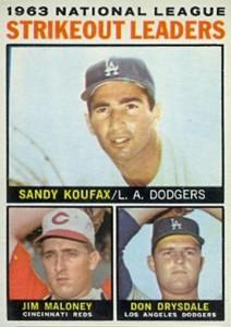 Sandy Koufax Cards - Vintage Baseball Card Timeline 20