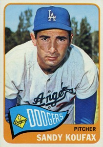 Sandy Koufax Cards - Vintage Baseball Card Timeline 22