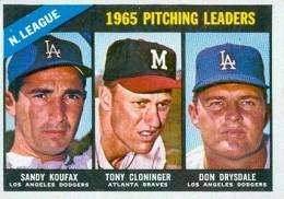Sandy Koufax Cards - Vintage Baseball Card Timeline 26