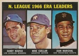 Sandy Koufax Cards - Vintage Baseball Card Timeline 28