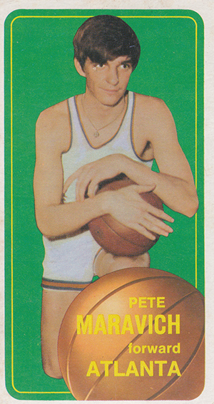 Pete Maravich Cards and Memorabilia Guide 1