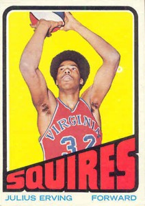 Julius Erving Cards and Memorabilia Guide 1