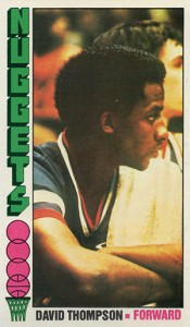 1976-77 Topps David Thompson RC