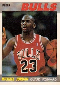Top Michael Jordan Base Cards
