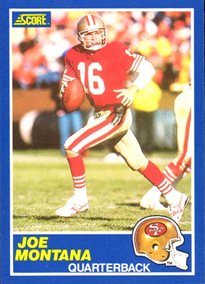 1989 Score Football Cards 21
