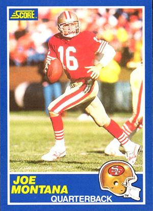 1989 Score Football Cards 25