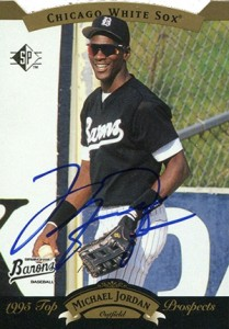 Michael Jordan Baseball Cards Checklist Rookie List Top Autographs
