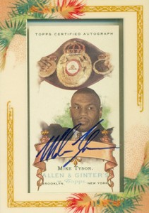 2006 Topps Allen and Ginter Autographs Mike Tyson
