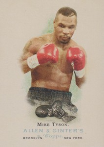 2006 Topps Allen and Ginter Mike Tyson