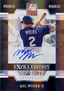 2009 Elite Extra Edition Autographs Wil Myers
