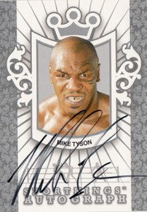 2009 Sportkings Autographs Mike Tyson MT1