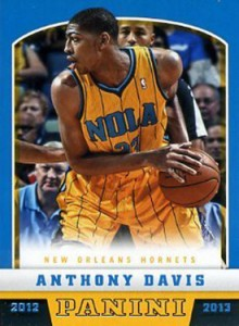 2012-13 Panini Anthony Davis RC
