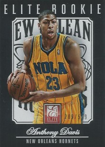 2012-13 Panini Elite Anthony Davis RC