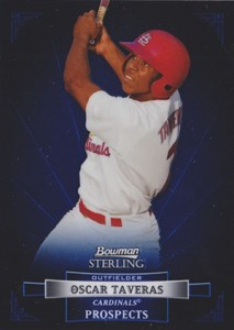 2012 Bowman Sterling Prospects Oscar Taveras