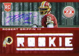 2012 Panini Totally Certified Robert Griffin III RC