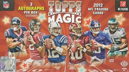 Win a FREE 2012 Topps Magic Football Hobby Box 1