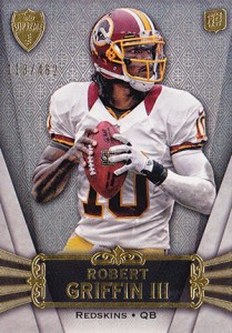 2012 Topps Supreme Robert Griffin III RC