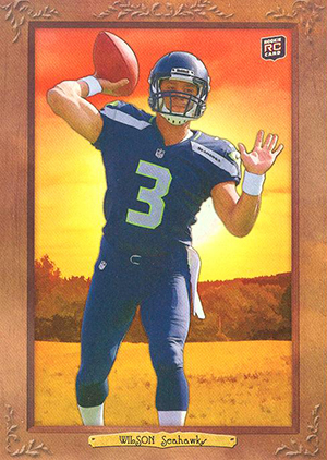 2012 Topps Turkey Red Football Russell Wilson