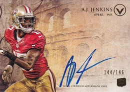 2012 Topps Valor Football Valor Autographs Guide 2