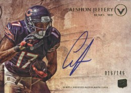 2012 Topps Valor Football Valor Autographs Guide 1
