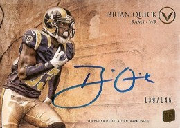 2012 Topps Valor Football Valor Autographs Guide 5