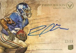 2012 Topps Valor Football Valor Autographs Guide 13