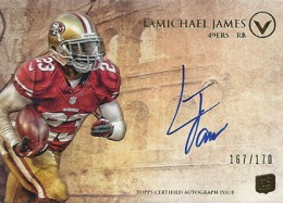 2012 Topps Valor Football Valor Autographs Guide 20