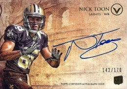 2012 Topps Valor Football Valor Autographs Guide 28