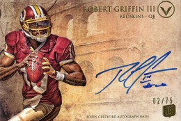 2012 Topps Valor Football Valor Autographs Guide 31