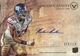 2012 Topps Valor Football Valor Autographs Guide 33