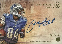 2012 Topps Valor Football Valor Autographs Guide 30