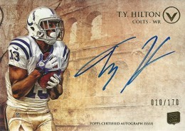 2012 Topps Valor Football Valor Autographs Guide 40