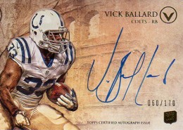 2012 Topps Valor Football Valor Autographs Guide 41