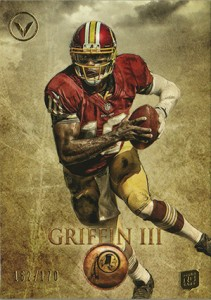2012 Topps Valor Robert Griffin III RC