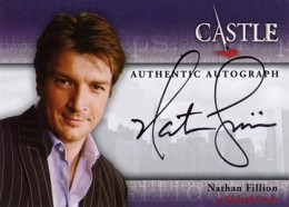 2013 Cryptozoic Castle Seasons 1 and 2 Autographs Guide 1