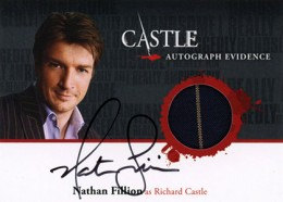 2013 Cryptozoic Castle Seasons 1 and 2 Autographs Guide 13
