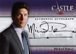 2013 Cryptozoic Castle Seasons 1 and 2 Autographs Guide 10