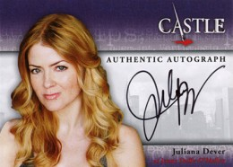 2013 Cryptozoic Castle Seasons 1 and 2 Autographs Guide 11