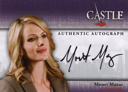 2013 Cryptozoic Castle Seasons 1 and 2 Autographs Guide 12