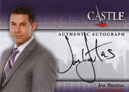 2013 Cryptozoic Castle Seasons 1 and 2 Autographs Guide 2