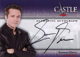 2013 Cryptozoic Castle Seasons 1 and 2 Autographs Guide 3